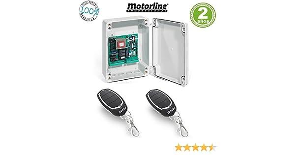 Kit Central electronica maniobras puerta parking garaje batiente ...