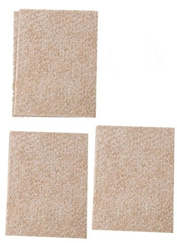HEAVY DUTY SELF ADHESIVE FELT SHEETS FURNITURE PROTECTION CAN BE CUT TO SIZE
