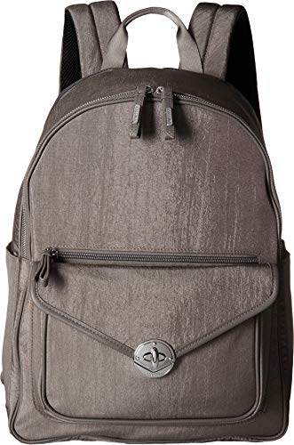 Baggallini Women's Granada Laptop Backpack Sterling Shimmer One Size ()