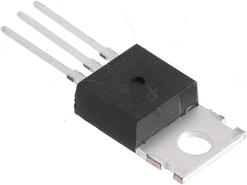 Y A1265 2SD880 ILS 10pcs D880 TO220 Transistor D880 NPN Transistor de puissance en silicone 3A // 60V // 30W TO-220