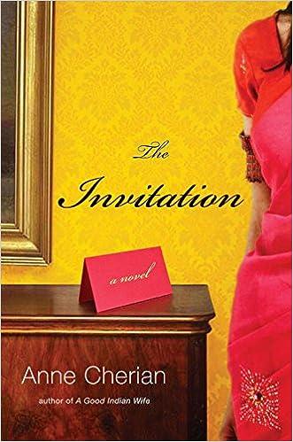 amazon com the invitation a novel 9780393081602 anne cherian books