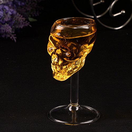 TOPmountain Skeleton Cup 75Ml Skull Wine Glass Cup Beer Cup For -