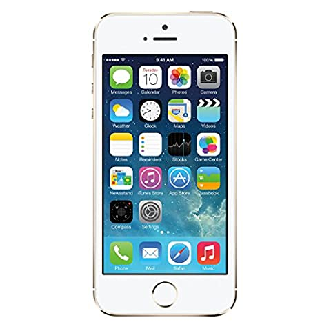 Apple iPhone 5S - 32GB - ATT - Gold (Certified Refurbished) (Amazon Iphone 5s At&t Unlocked)
