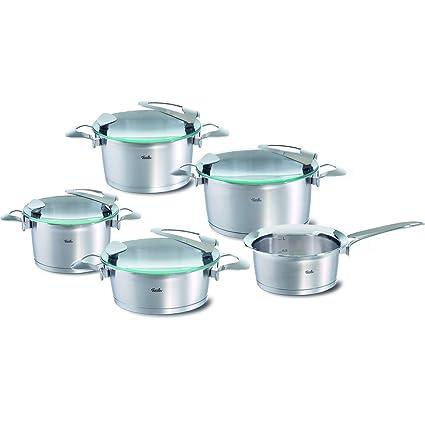 Fissler 1611005000 solea - Batería de Cocina (5 Piezas)