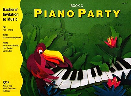 WP272 - Bastiens Invitation to Music Piano Party Book C