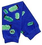 BabyLegs Baby-Boys Infant Slug Bug Leg Warmer, Blue/Green, One Size