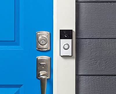 Ring Wi-Fi Enabled Video Doorbell Satin Nickel