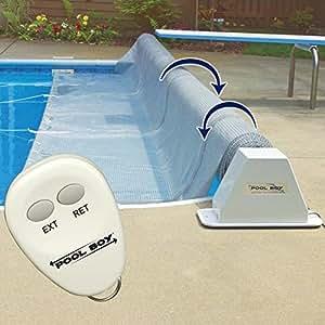 Amazon Com Pool Boy Powered Pool Solar Blanket Reel Up