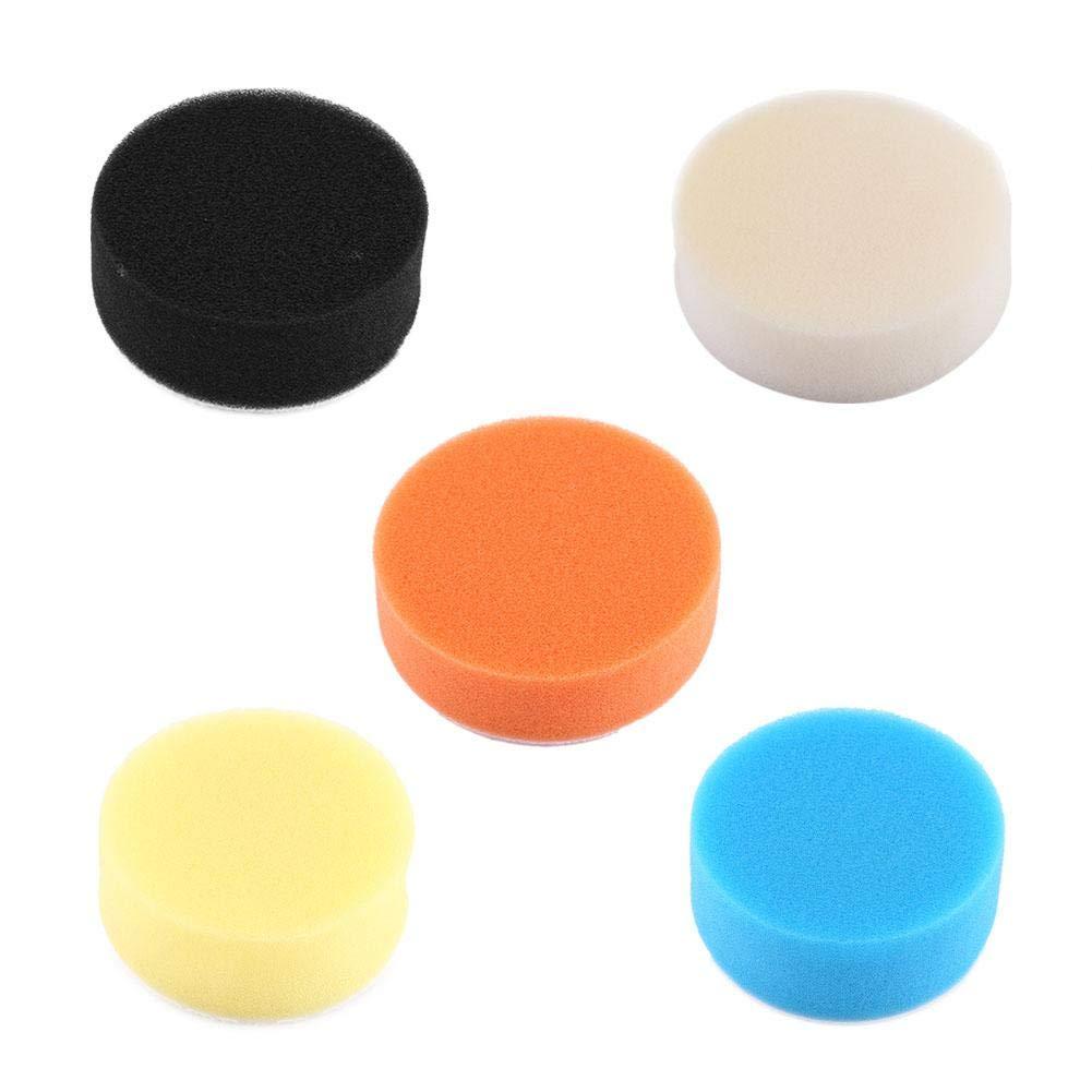 4//100mm Car Polishing Pads 5Pcs 3 4 5 6 7 Sponge Polishing Buffing Waxing Pad Kit Tool for Car Polisher Buffer