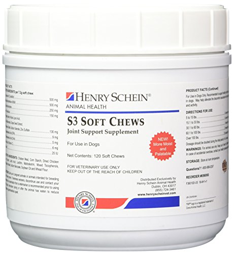 S3 Soft Chews Joint Support Supplements ()