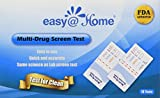 10 Pack Easy@Home 10 Panel Instant Urine Drug Test - Marijuana (THC),AMP,BAR,BZO,COC,MTD,mAMP,OPI2000,PCP,OXY #EDOAP-4104