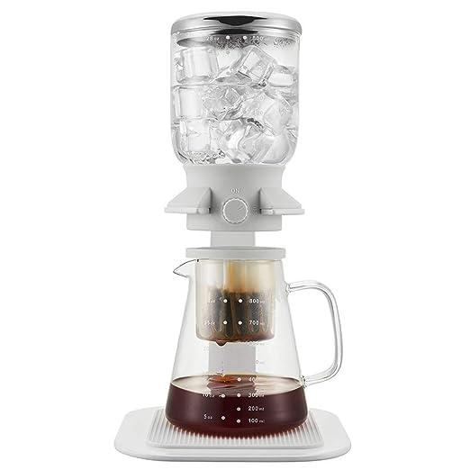 JINRU 5 Tazas de café Helado Pantalla táctil sifón eléctrico Mesa ...