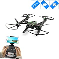 Large Size RC Drones with Camera Live Video FPV Drone Quadcopter with Camera For Beginngers - Strong Power Automatic Air Pressure High