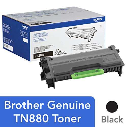 - Brother Genuine Super High Yield Toner Cartridge, TN880, Replacement Black Toner, Page Yield Up To 12,000 Pages, Amazon Dash Replenishment Cartridge