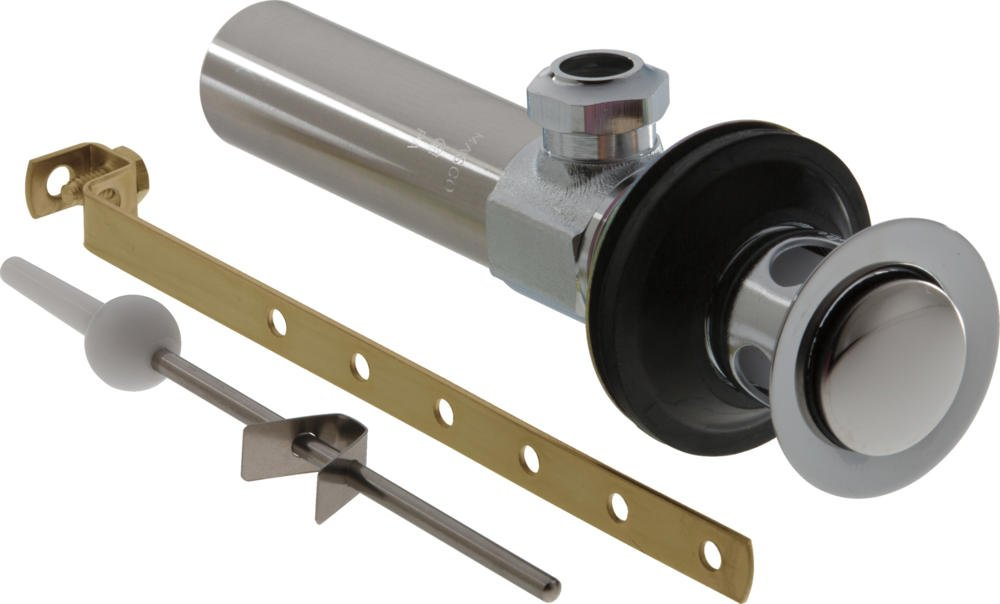 Delta Faucet RP26533 Drain Assembly Bathroom Metal Less Lift Rod and Knob, Chrome by DELTA FAUCET