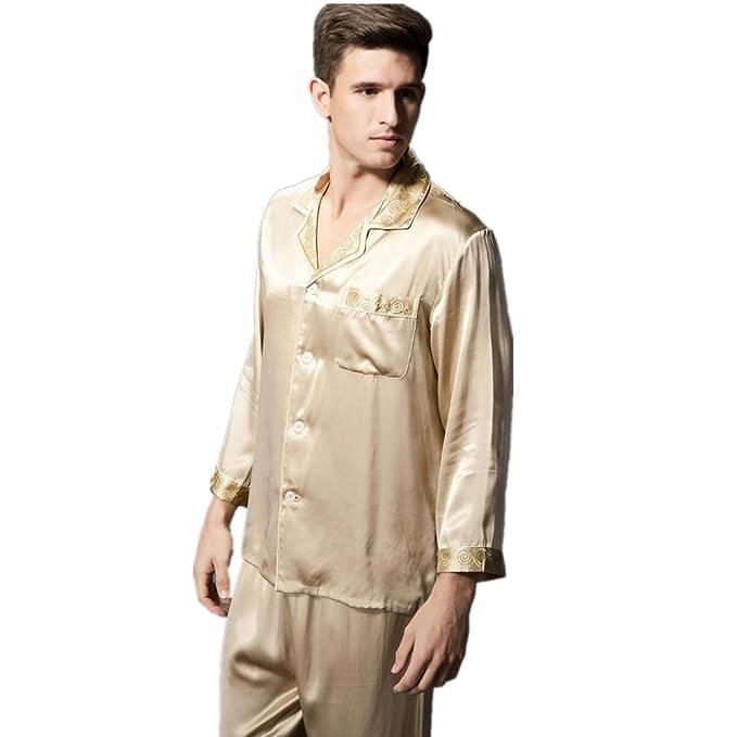 GJX Pijama hombres pijama clásico pijama set , b , xxl