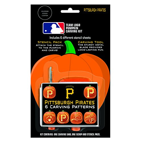 MLB Pittsburgh Pirates Pumpkin Carving Kit - Pirate Pumpkin