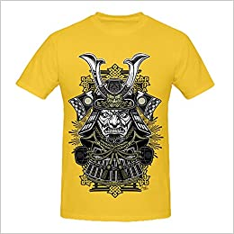 VERSUSWOLF 100% Cotton Mens Yellow Summer Fashion DIY Tops Tees