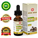 Hemp Oil for Dogs Cats and Pets - 500MG - Anxiety & Pain Relief - 100% Organic Pet Formula - Supports Hip and Joint Health - Pure Omega Oils Keep Your Pet Healthy! LAB Tested Full Spectrum Hemp Oil