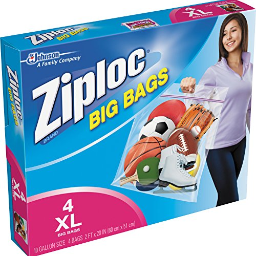 S C JOHNSON WAX - 4-Pack Extra-Large Big Bags