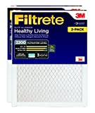 Kyпить Filtrete Healthy Living Elite Allergen Reduction HVAC Air Filter, MPR 2200, 20 x 25 x 1, 2-Pack на Amazon.com
