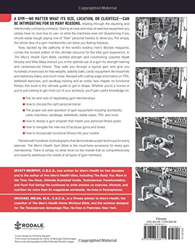 The Mens Health Gym Bible 2nd Edition : Includes Hundreds of ...