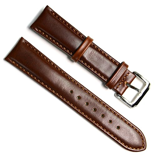 19mm-handmade-vintage-replacement-leather-watch-strap-watch-band-oil-wax-leather-coffee