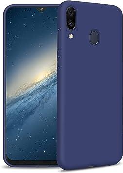 Funda Samsung A40, Azul Silicona Funda para Samsung A40 Flexible ...