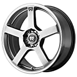 Motegi Racing  MR116 Wheel with Silver Finish (18x8''/5x120mm)