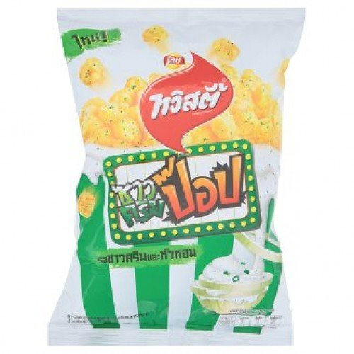Twisties Pop Sour Cream And Onion Flavour Corn Snack 78g