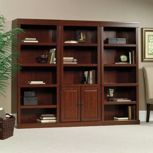 Reviewed: Heritage Hill Traditional Bookcase Set Classic Cherry