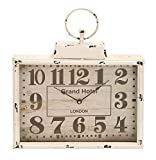 Deco 79 Metal Wall Clock, 16 by 15''