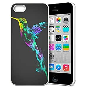 Animal Art Illustration Pattern HD Durable Hard Plastic Case Cover for iphone 5/5s