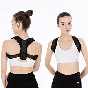 Posture Corrector Posture Corrector For Women And Men Child | Neck Relief | Adjustable Upper Back Brace For Clavicle Support Physical Therapy Posture Brace for Spinal Alignment & Posture Support
