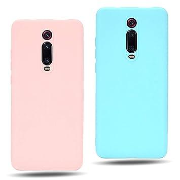 EuCase 2X Funda para Xiaomi Redmi Note 8 Pro Silicona ...