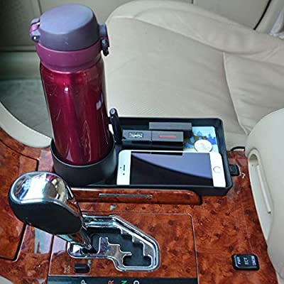 AUTUT Automotive Car Cup Holder Cell Phone and Beverage Tray Organizer Car Storage Holder: Automotive