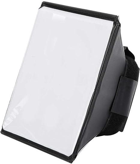 Mugast Difusor de Flash de Softbox difusor Plegable Universal Universal Softbox para c/ámara//luz de Flash