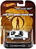 Hot wheels James Bond 007 Lotus Esprit S1 Rare boat car retro entertainment the spy who loved me