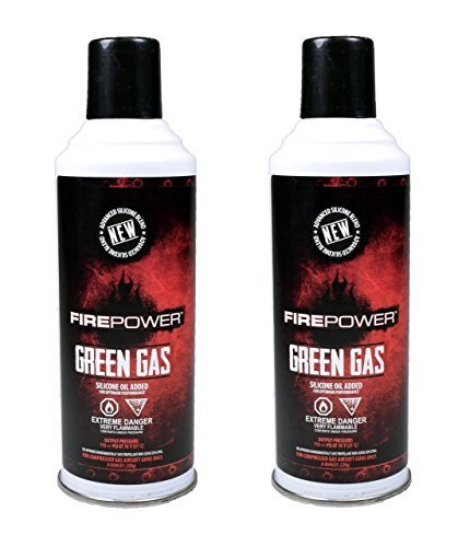 Green Gas x2 DUAL PACK by Fire Power ()