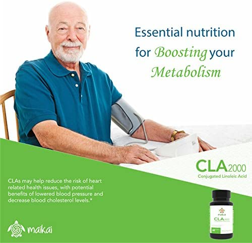 CLA 2000 mg with Active Conjugated Linoleic Acid - Weight Loss Supplement for Men and Women - Body Shaping and Toning Formula That Supports Your Dieting Goals (60 Softgels) 5