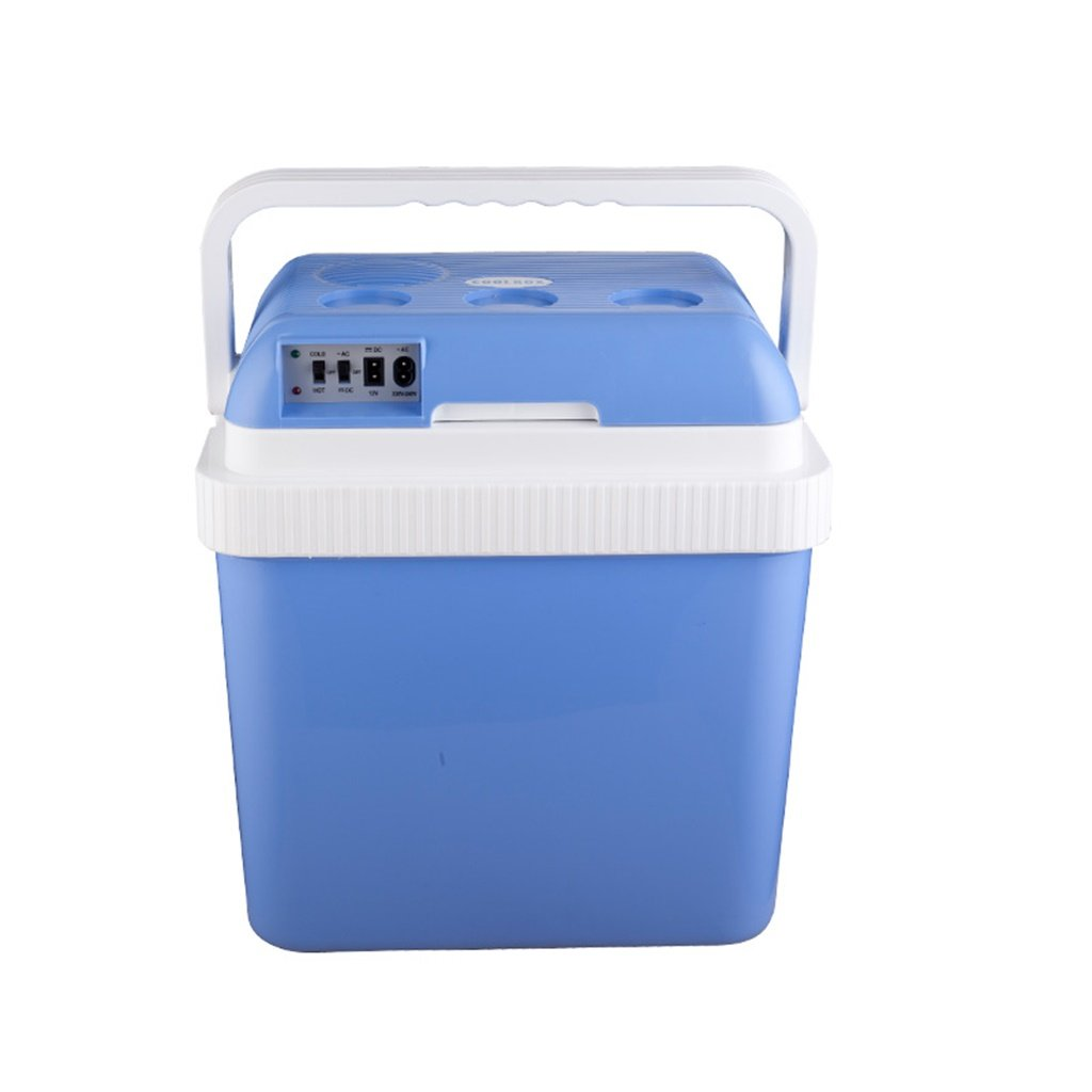 Mariny- 24L 12V DC 220V AC冷暖房車の冷蔵庫小型冷蔵庫小型家電マイクロ冷蔵庫車の二重使用冷蔵庫寸法:40.5 * 30 * 44センチメートル   B07PLNQRTB