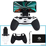 CamKix Compatible Phone Mount and Skin Replacement for PS4 Controller - Ideal