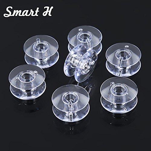 Smat H 20 Singer Bobbin Class 66 Plastic Bobbins in Pack (172336) - (172222P) ()