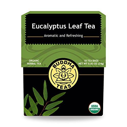 Organic Eucalyptus Tea Caffeine Free Bleach Free