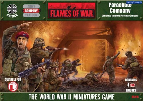 Battlefront Miniatures British: Parachute Company by Flames of War