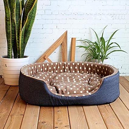 Amazon.com: KAIMENDAJI Luxury Pet Kennel House Warm Large ...