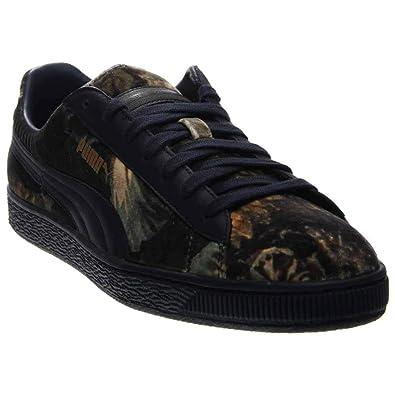 low priced 7ec63 81326 PUMA Men's Basket L Patent Fashion Sneaker