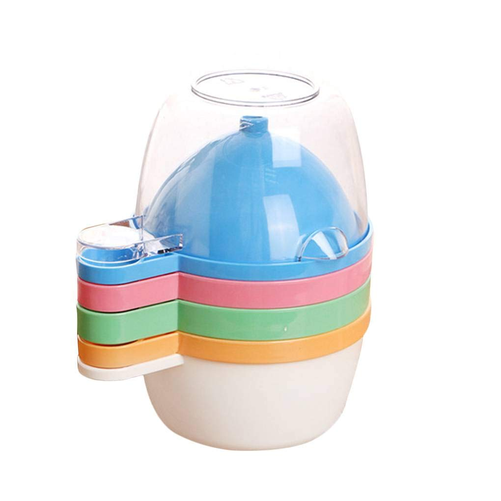 F-blue Baby Multifunction Manual Fruit Nutrition Supplement Infant Food Mill Bowl Feeding Bowl Fruit Vegetable Mixer Grinder