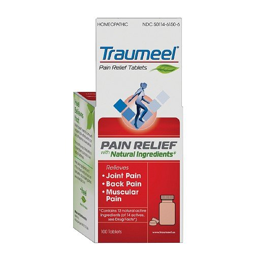 Amazon.com: Heel Traumeel, Homeopathic Anti-Inflammatory Tablets 100 ea: Health & Personal Care