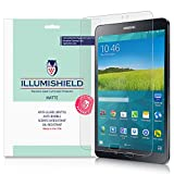 iLLumiShield - Samsung Galaxy Tab S2 8.0 Matte Screen Protector w/ Lifetime Replacement / Anti-Glare HD Clear Film / Anti-Bubble & Anti-Fingerprint / Invisible Shield - [2-Pack] [Wi-Fi/LTE]